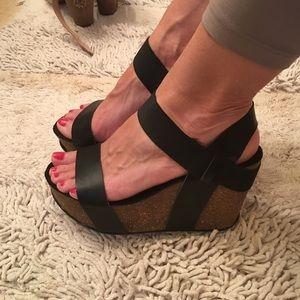 Mia Platform Sandals-Women's 8.5